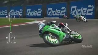 Ride 2 PS4 デイリーチャレンジ レーススーパースポーツでヴァレルンガ ZXー6R ベリーハード