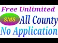 Unlimited Send Free SMS Message To Any Mobile IN The World