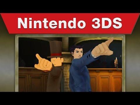 Get Nintendo 3DS - Professor Layton vs. Phoenix Wright: Ace Attorney E3 2014 Trailer Screenshots