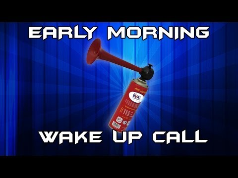 Early Morning Wake Up Call (Foghorn Prank) thumbnail