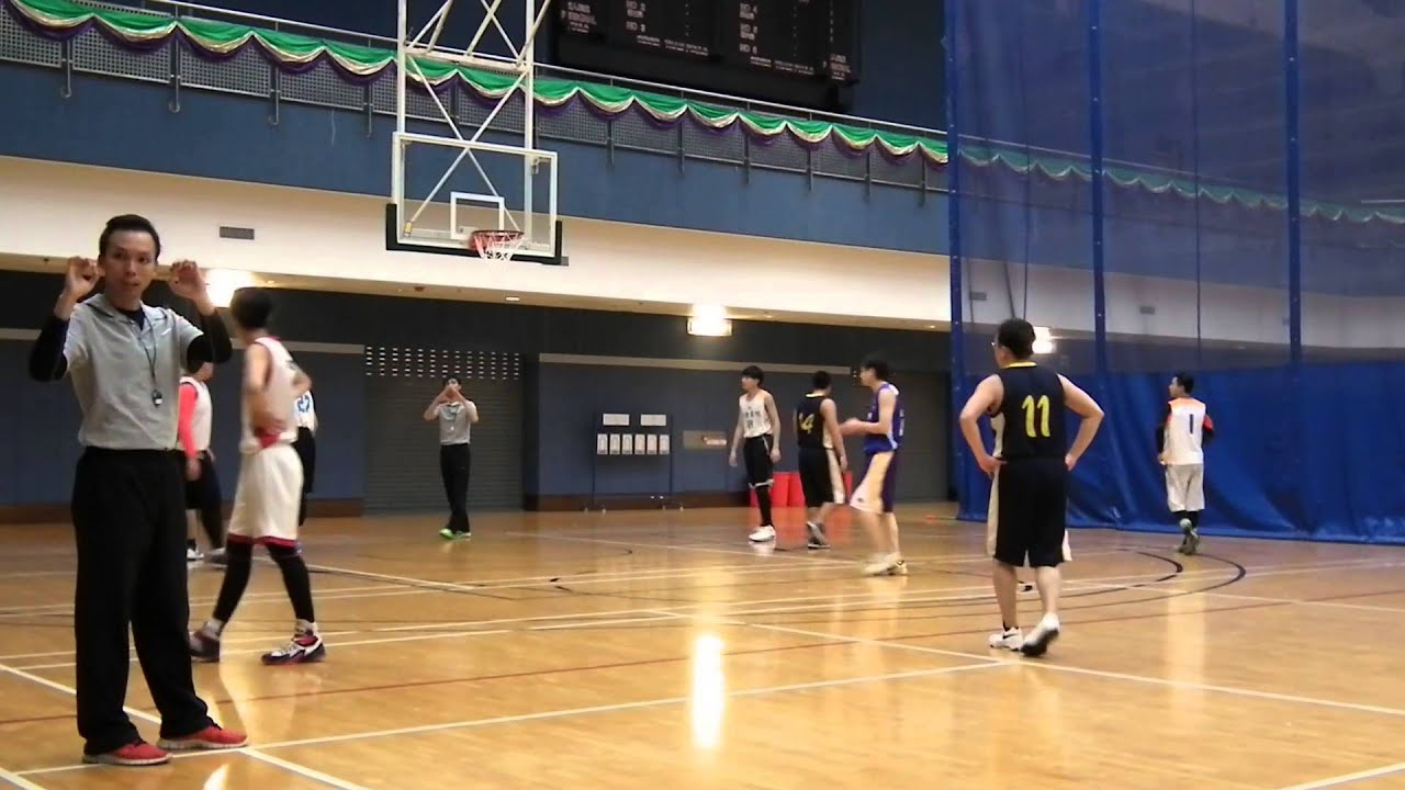 九龍體育會籃球聯賽-龍獅盃2014 創意書院 vs RAVEN pt-1 - YouTube
