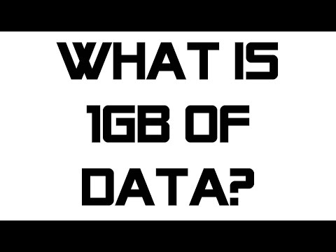 How Much Is 1gb Of Data