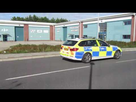 Cumbria Police BMW Estate ,Returning to Kendal