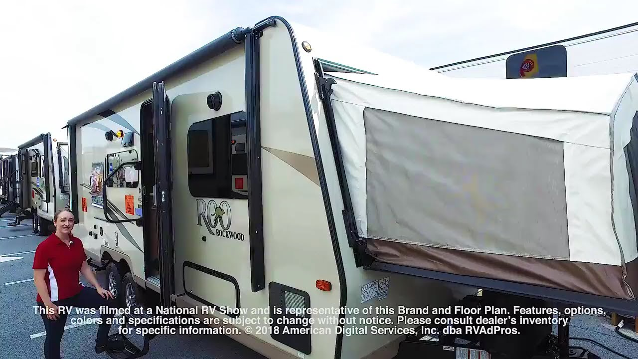 New 2018 Forest River RV Rockwood Roo 233S Expandable at Country