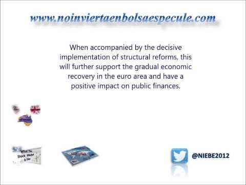 ESL Financial English Lesson. Mario Draghi January 2014 - ECB - Part 3. English Subtitled.