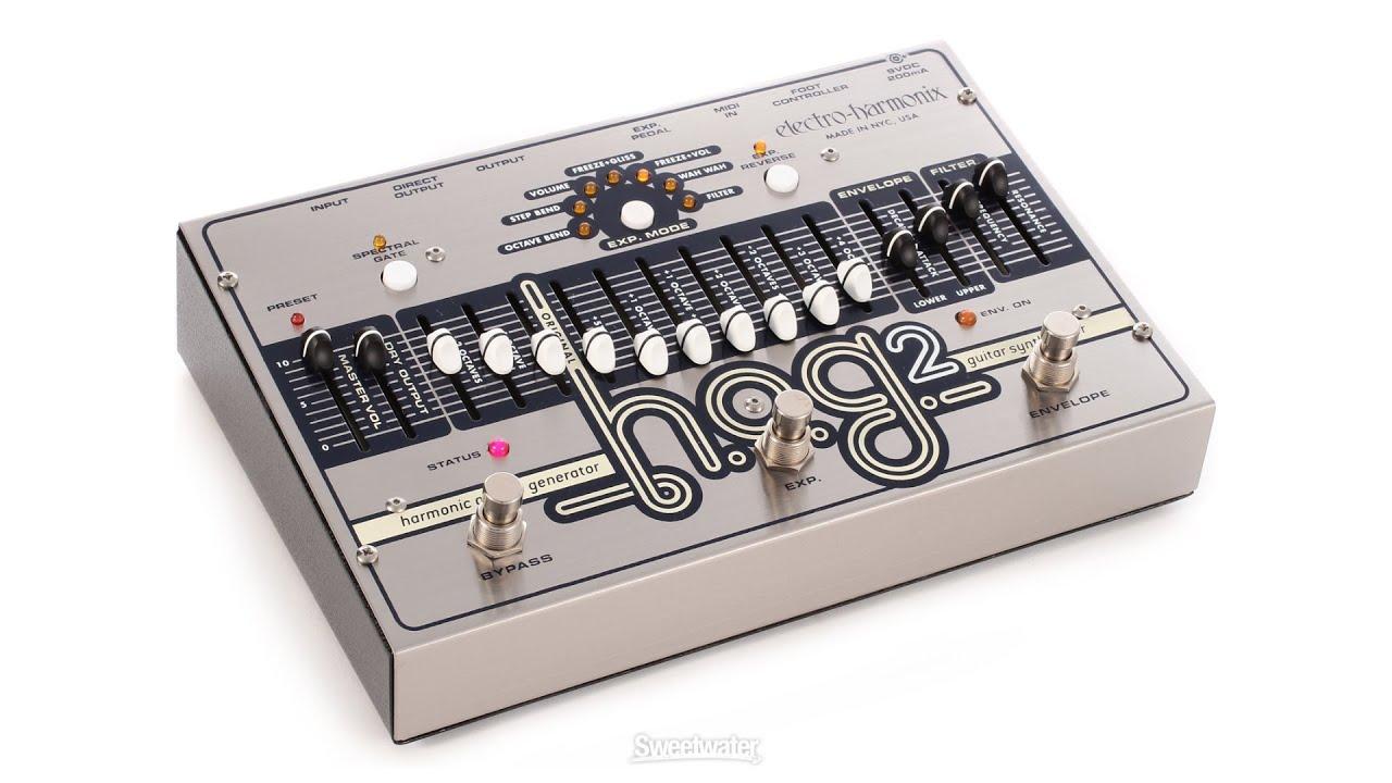 Electro-Harmonix HOG2 Harmonic Octave Generator Pedal