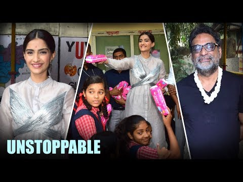 Unstoppable Padman Awrd With Sonam Kapoor And R Balki