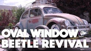 1956 Oval Window Beetle Restoration Progress