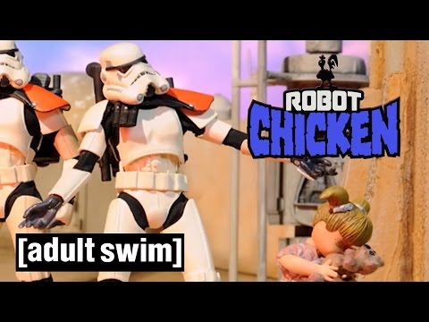 4 Classic Gary The Stormtrooper Moments | Robot Chicken Star Wars | Adult Swim