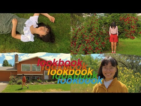 🌈 a colorful summer lookbook - YouTube