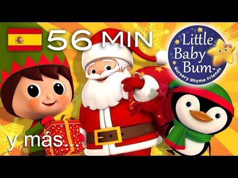 Dulce Navidad | Villancicos | ¡Y más canciones infantiles! | 56 minutos | de LittleBabyBum