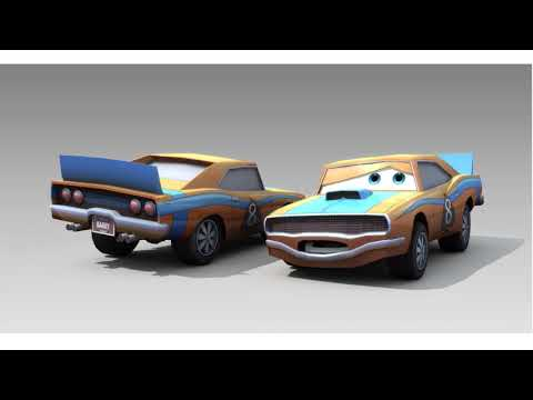 Disney Pixar Cars Video Game Barry Voice Clips