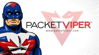 PacketViper - Cyber Security Web Promo