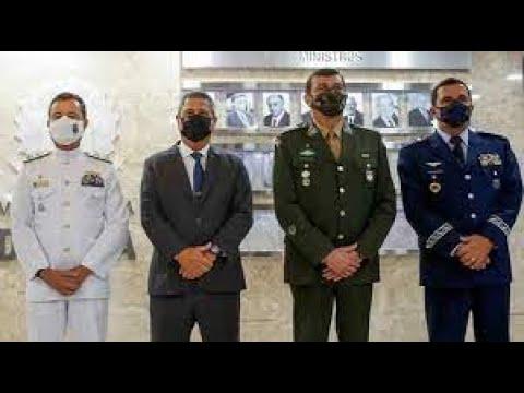 Nota das Forças Armadas é a mais grave em várias décadas.
