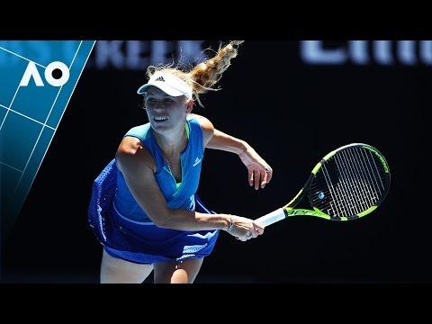 Wozniacki v Vekic match highlights (2R) | Australian Open 2017