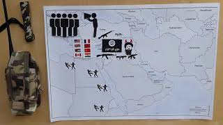 Война в Сирии за 4 минуты