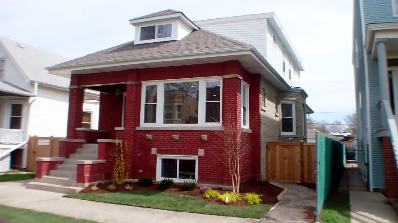 Chicago Bungalow Rehab For Sale In 60634: Complete Gut Rehab Bungalow For Sale In Irving Park
