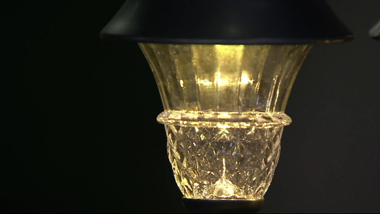 Duracell 8 Piece 10 Lumen Solar Landscape Light Set On Qvc Youtube