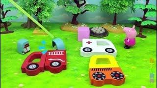小猪佩奇的妈妈生病了,佩奇来找医生开车去她家,结果医生开错车了!