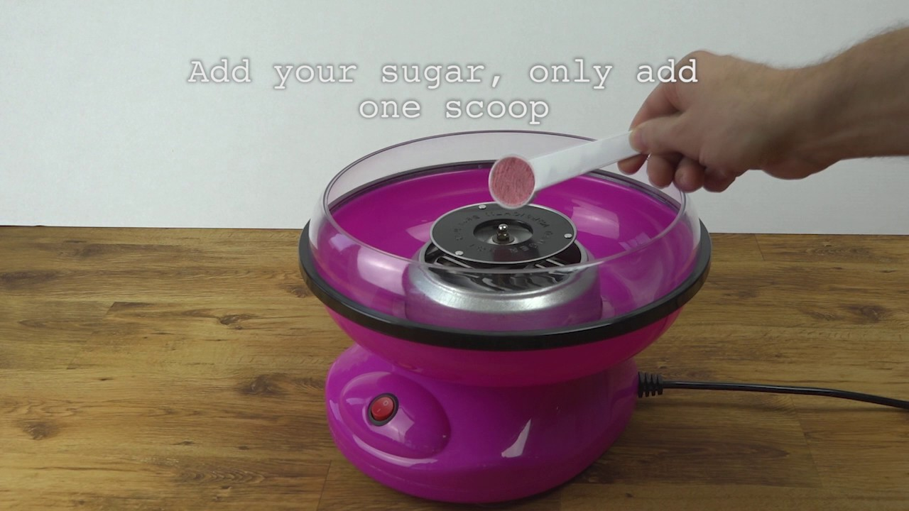 Pretty Pink Candy Floss Maker 1 1