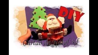 DIY - Cartão de Natal 3D / 3D Christmas Card in EVA foam