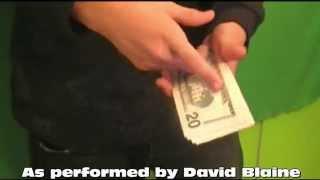 Unbelivable Money Magic Trick