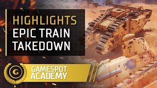 Battlefield Academy - Epic Armored Train Behemoth Takedown