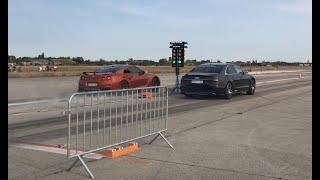 Audi S8 D4 Vs  Nissan GT-R