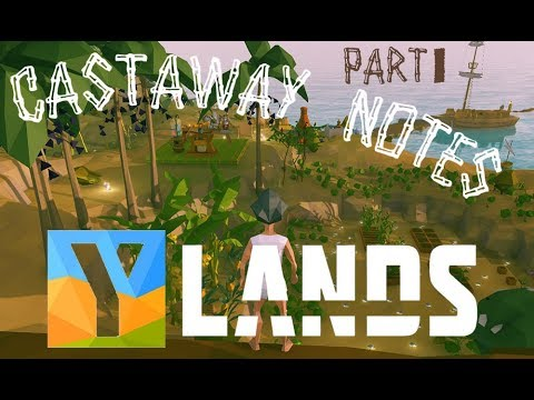 YLANDS | Build the first 10 Craft Stations  | Tons of Recipes | Outdoor Workshop | Castaway Part 1