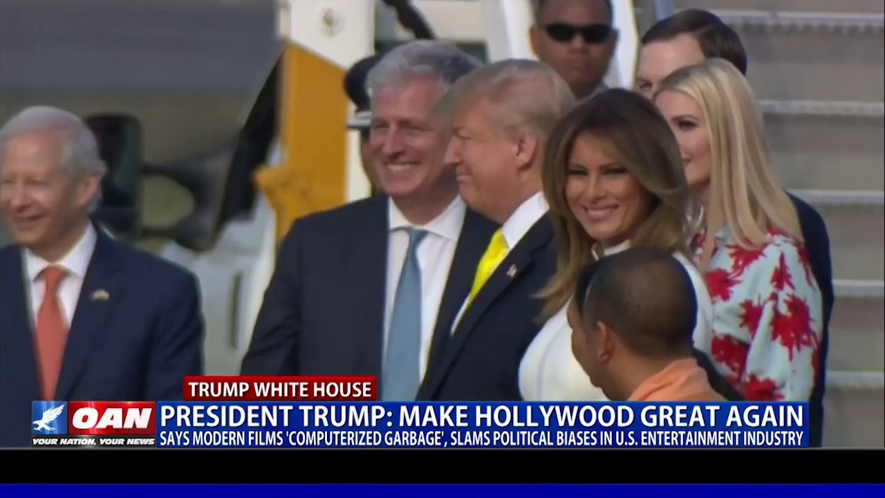 President Trump: Make Hollywood Great Again -OAN