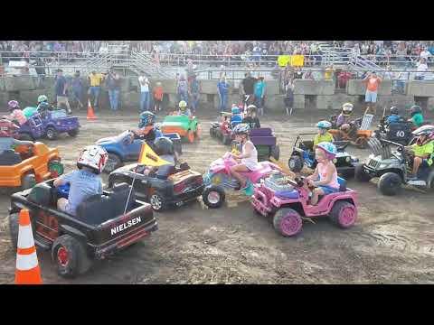 Nicollet County Fair 2017 Power Wheels Demo Derby