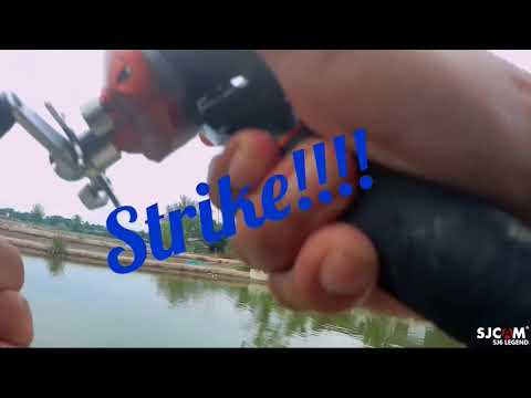 Casting SP Z-Man di kolam pancing Jugra