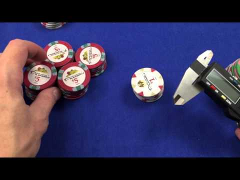 Pharaoh China Clay Poker Chips - First Impressions