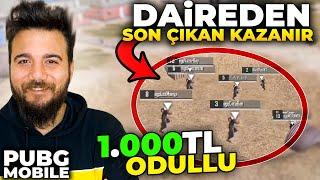 DAİREDEN SON ÇIKAN KAZANIR! 1.000 TL ÖDÜLLÜ - PUBG Mobile