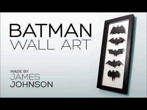 Batman Wall Art   YouTube
