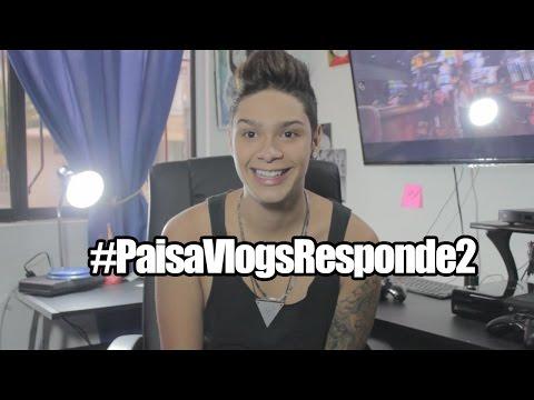 ¿GORDIBUENAS O FLAQUITAS? #PaisaVlogsResponde2 - PAISAVLOGS
