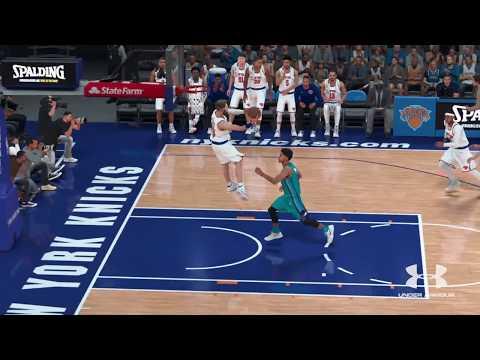 NBA 2K18| 360 SELF ALLEY-OOP!!
