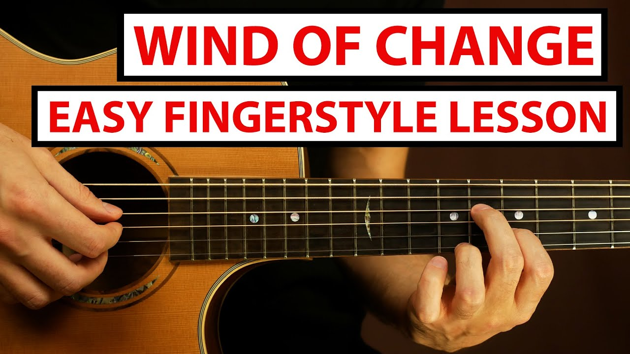 Scorpions - Wind of Change | Fingerstyle Guitar Lesson (Tutorial) How to Play Fingerstyle