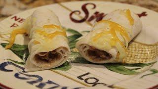 Taquitos / Beef Taquitos Recipe / Cheryls Home Cooking
