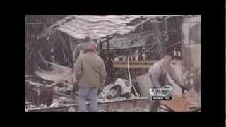 WIllow Ridge Hog Farm Fire, Darien, NY - March 8, 2012