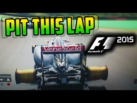 F1 2015 GAME: FUNNY MOMENTS (F1 2015 GLITCHES & BUGS)