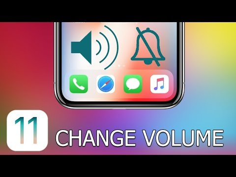 How to Change Volume on iPhone and iPad with iOS 11