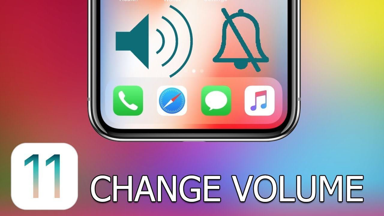 no volume on iphone 5 how to change volume on iphone and with ios 11 17870