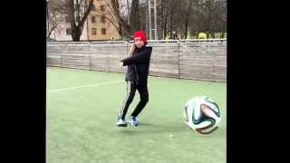 Fotbolls trick a