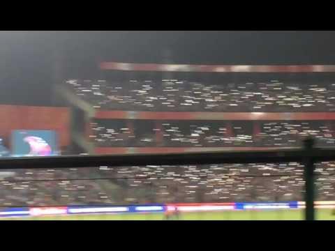 Flashlight wave|crazy fans|IPL 2017| ferozshah kotla stadium |Delhi vs punjab|