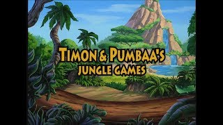 Timon & Pumbaa's Jungle Games: Full Gameplay/Walkthrough (Longplay)