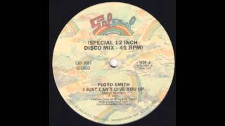 "DISCO BOOGIE 12"" - FLOYD SMITH - I Just Can"