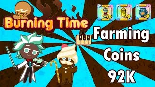 Line Cookie Run (Indonesia) - Farming coins 92K in 8 Minute