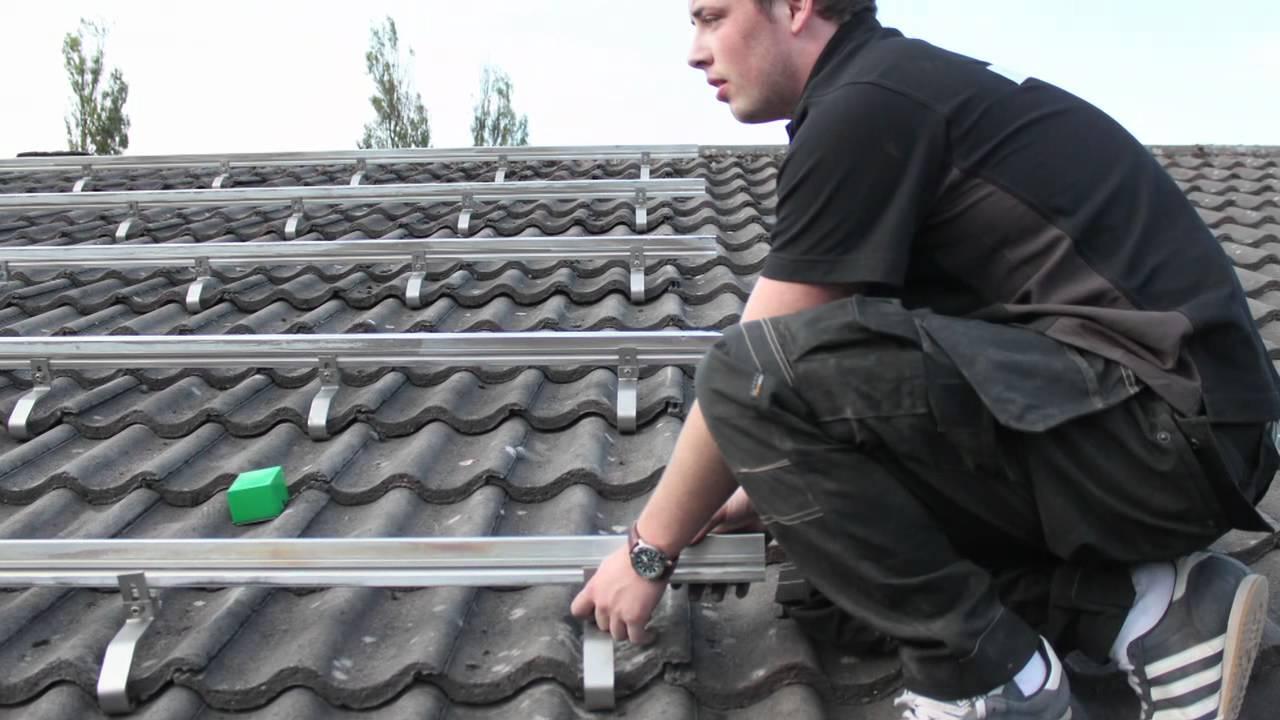 Uk Pv Solar Panel Installation Explanation Youtube