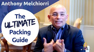 Pack Like a Pro: Anthony Melchiorri